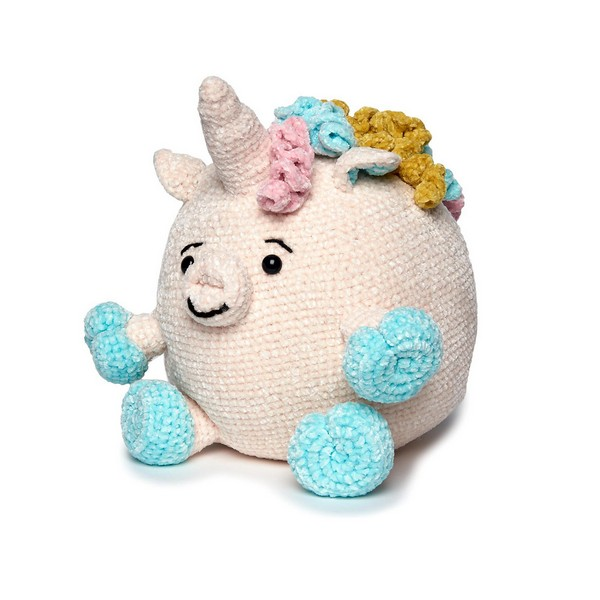 Free Crochet Unicorn Stuffie Pattern