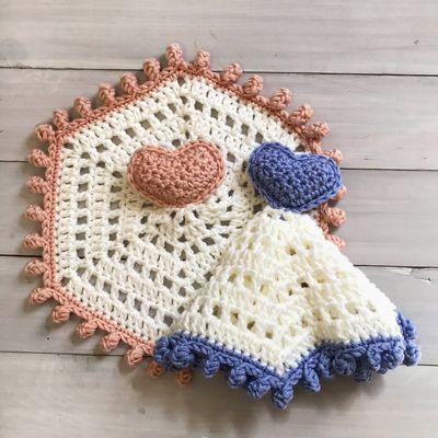 Free Heart Crochet Lovey Keepsake Pattern