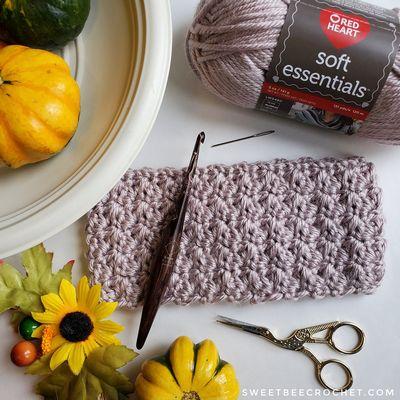 Free Super Cozy Crochet Ear Warmer Pattern