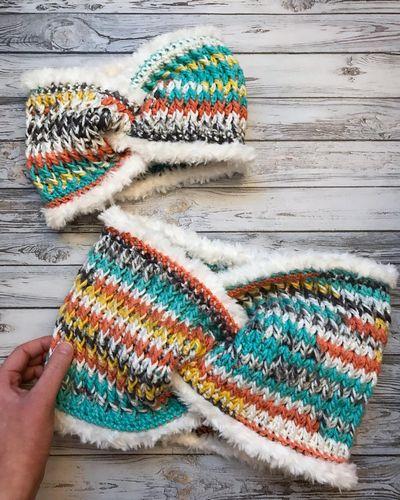 Free TNH Crochet Ear Warmer Cowl Pattern
