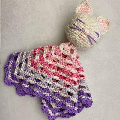 Free The Little Crochet Lovey Blanket Pattern