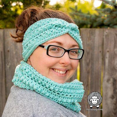 Free Winter Crochet Ear Warmer Pattern