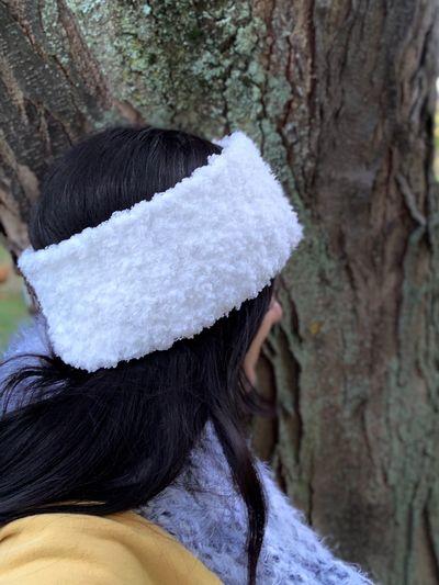 Free Winter Wonderland Crochet Ear Warmer Pattern
