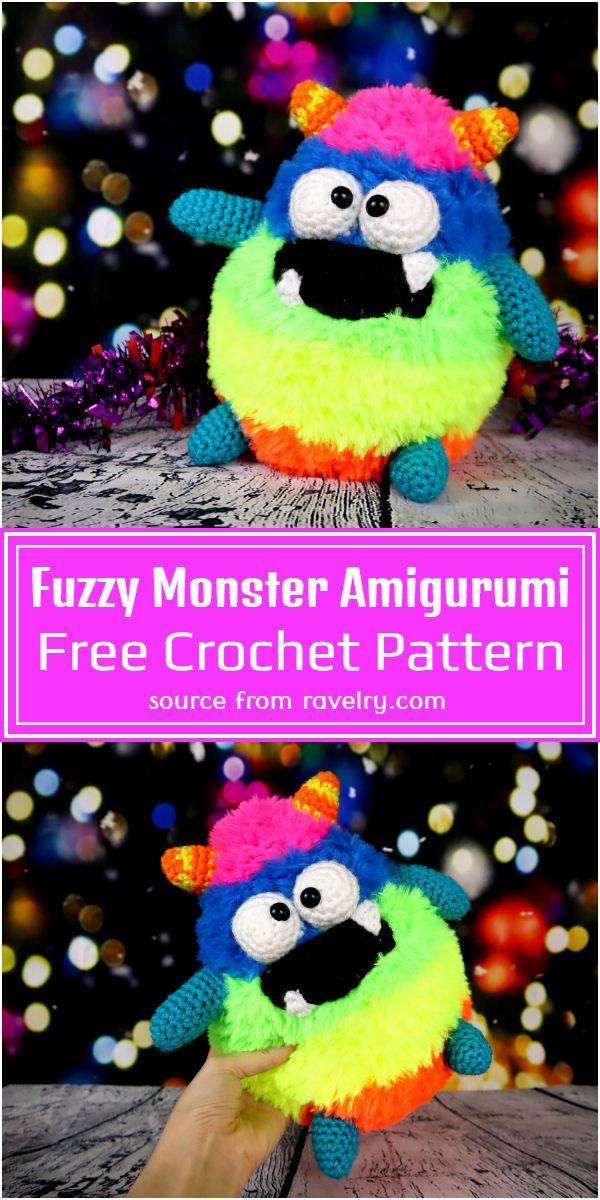Fuzzy Amigurumi Pattern