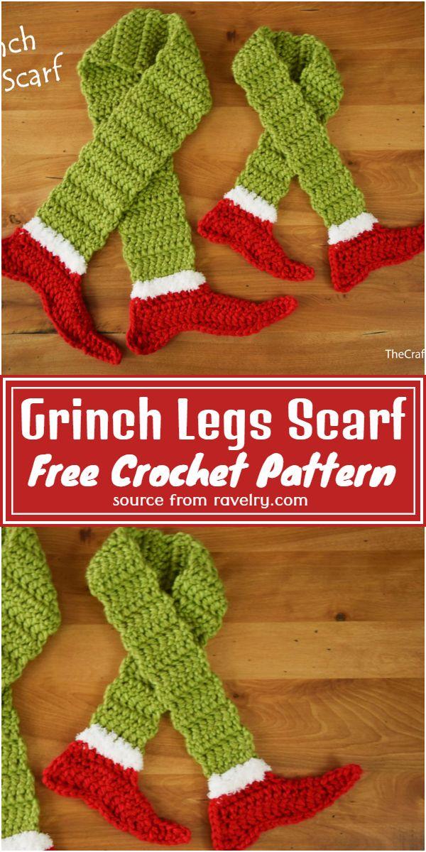Legs Scarf Pattern