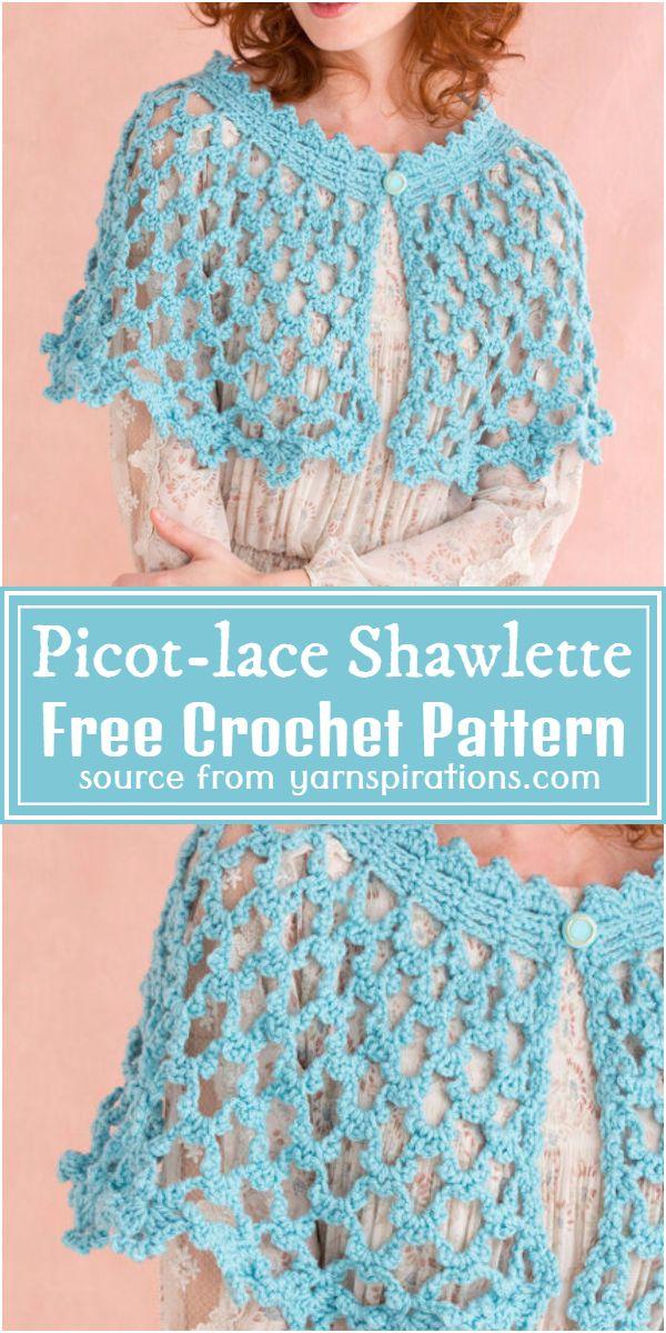 lace Shawlette Pattern