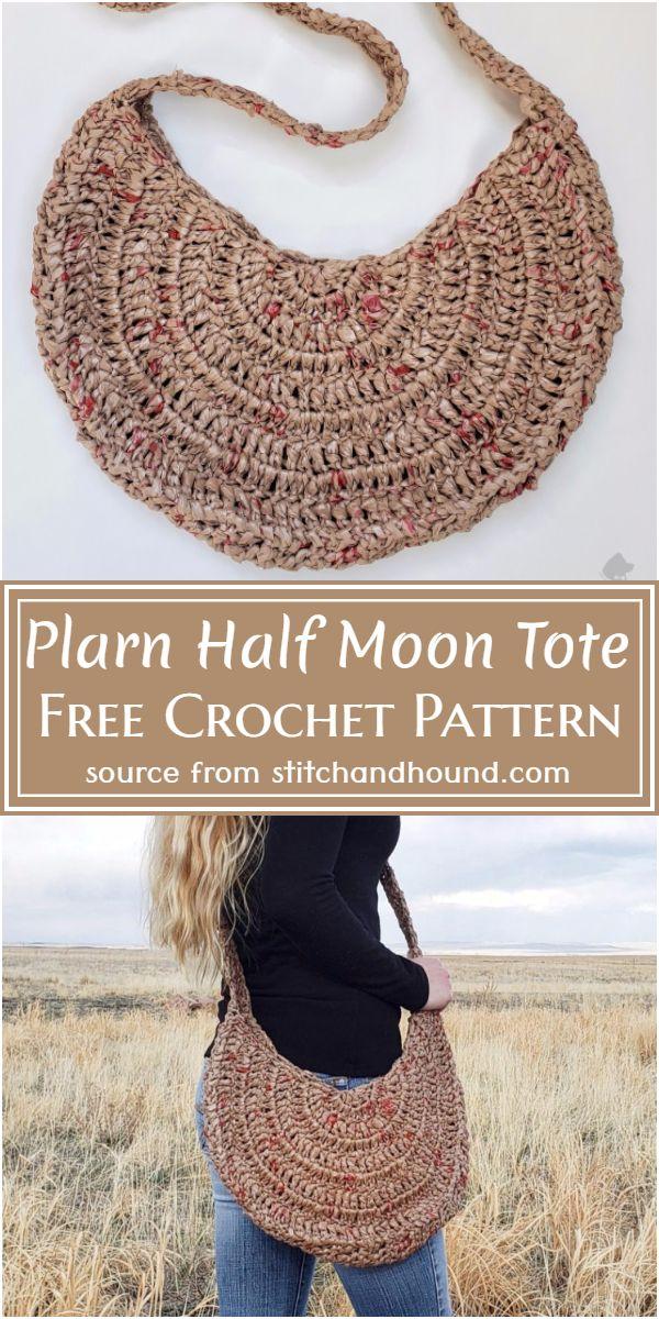 Half Moon Tote Pattern