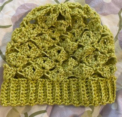 Slightly Crochet Slouchy Spring Hat Free Pattern