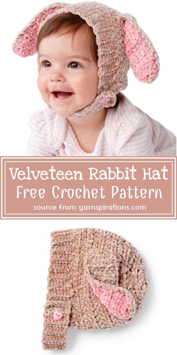 Velveteen Hat Pattern