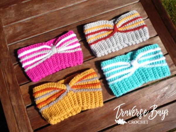 Crochet Country Spice Headband Pattern