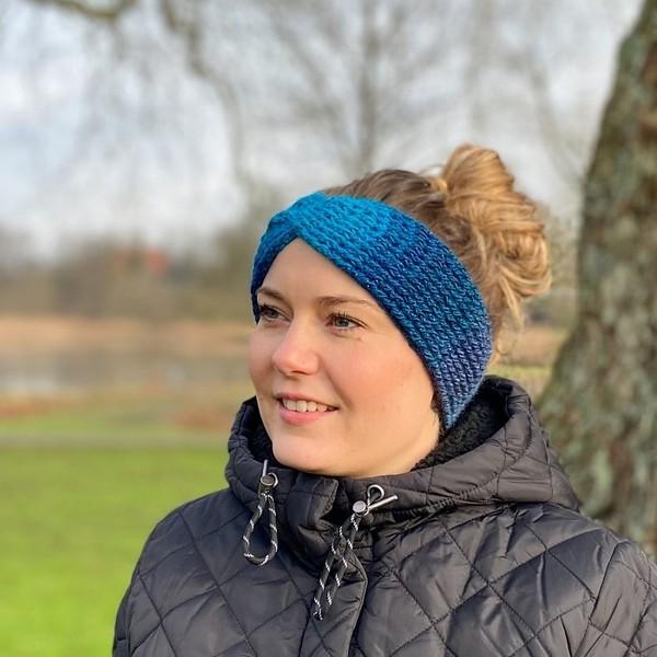 Crochet Havskum Headband Pattern