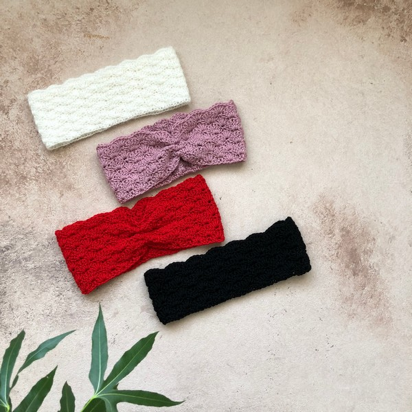 Crochet Helen The Headband Pattern