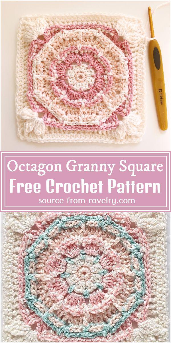 Granny Square Free Pattern