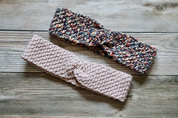 Crochet Stretch And Twist Headband Pattern