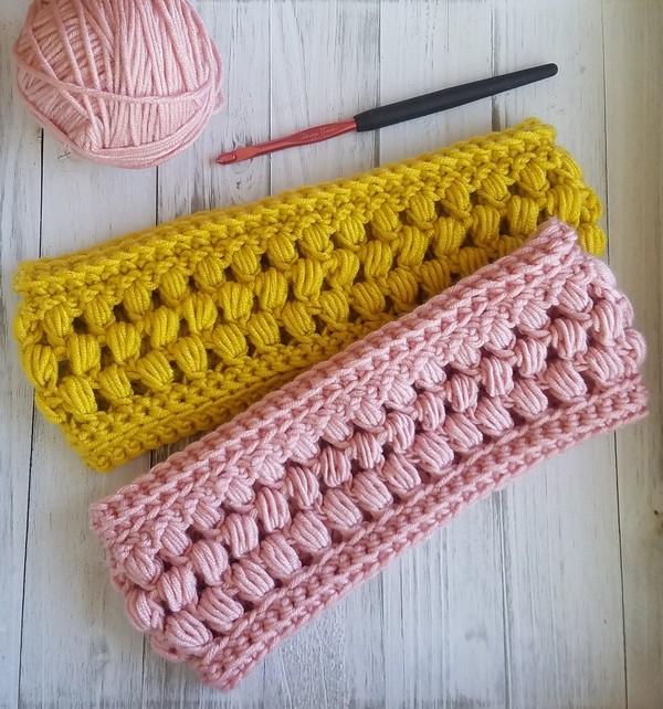 Crochet The Pineapple Cluster Headband Pattern