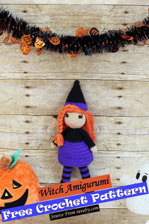 Crochet Witch Amigurumi Pattern