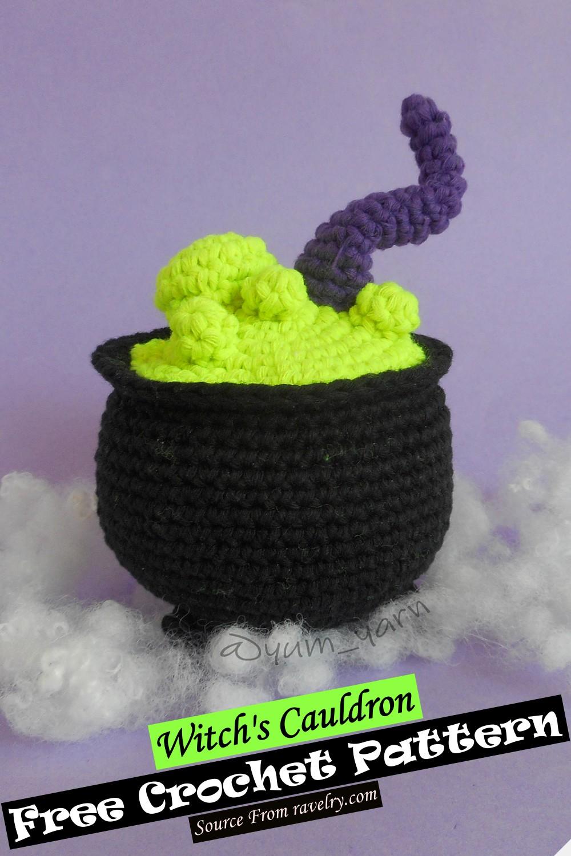 Crochet Witch's Cauldron Pattern