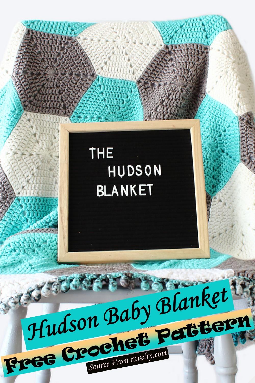 Free Crochet Hudson Baby Blanket Pattern