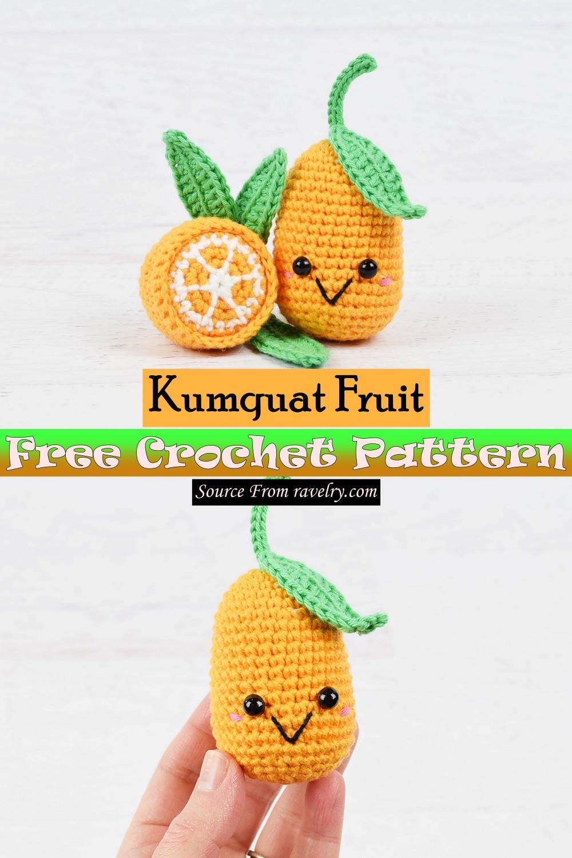 Free Crochet Kumquat Fruit Pattern