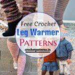 14 Free Crochet Leg Warmer Patterns For All