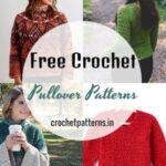 15 Superb Free Crochet Pullover Patterns
