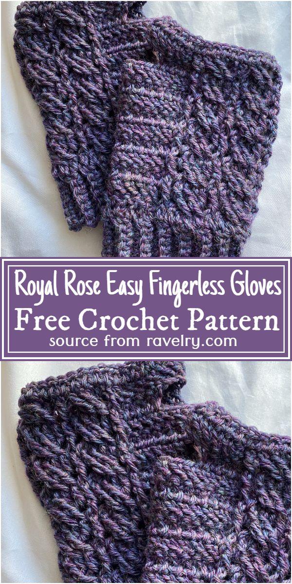 Royal Rose Easy Free Pattern