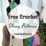 25 Free Crochet Shrug Patterns