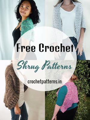 Crochet Shrug Patterns