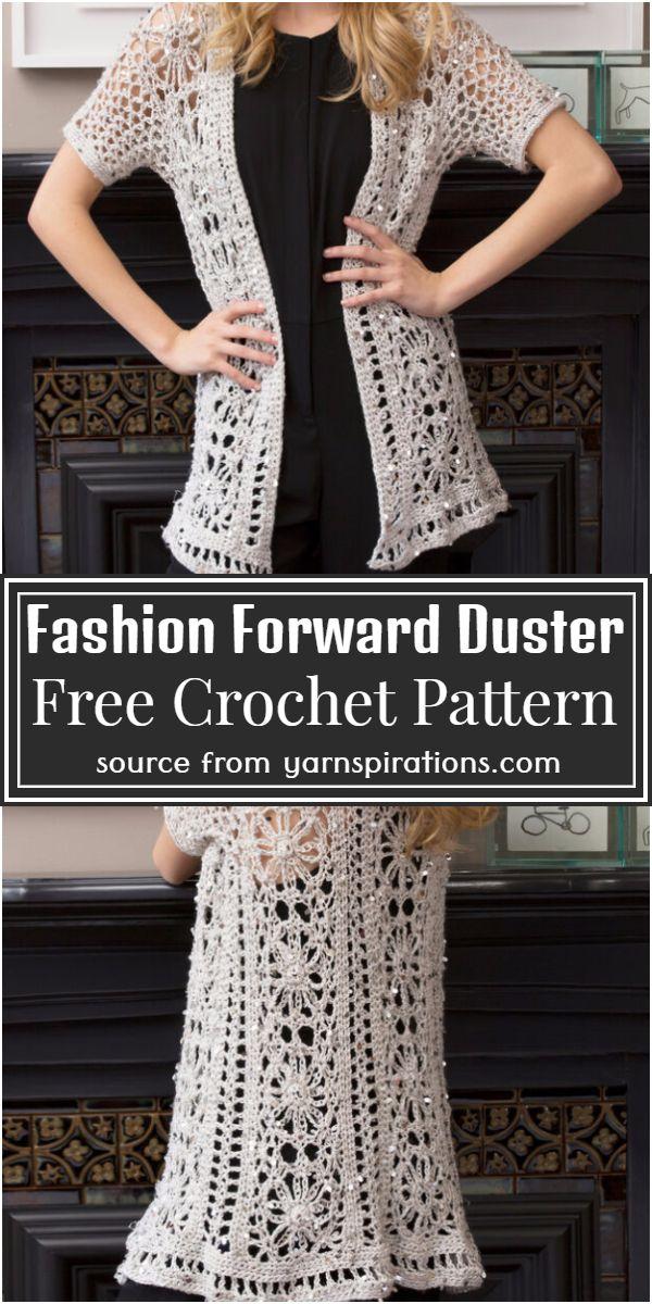 Fashion Forward Cardigan Free Pattern