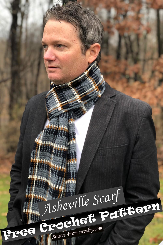 Free Crochet Asheville Scarf Pattern