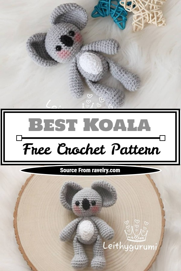 Free Crochet Best Koala Pattern