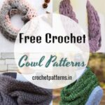50 Free Crochet Cowl Patterns