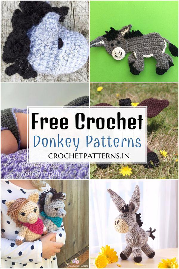 Free Crochet Donkey Patterns