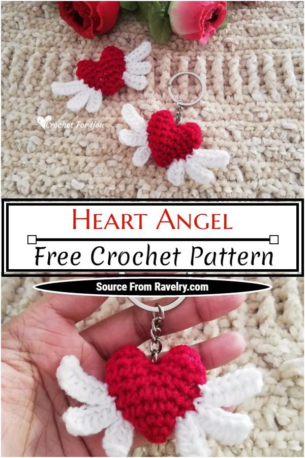 Free Crochet Heart Angel Pattern