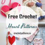 15 Lovely Free Crochet Heart Patterns