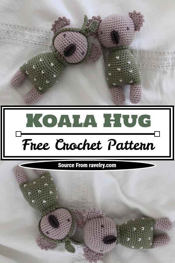 Free Crochet Koala Hug Pattern