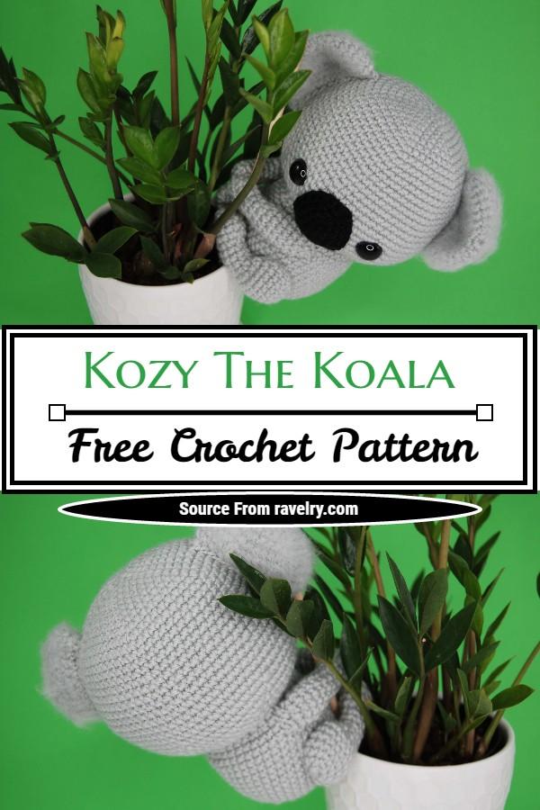 Free Crochet Kozy The Koala Pattern