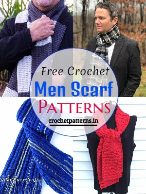 Free Crochet Men Scarf Patterns