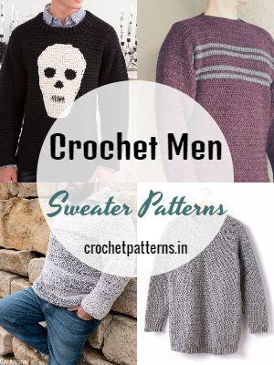 Free Crochet Men Sweater Patterns