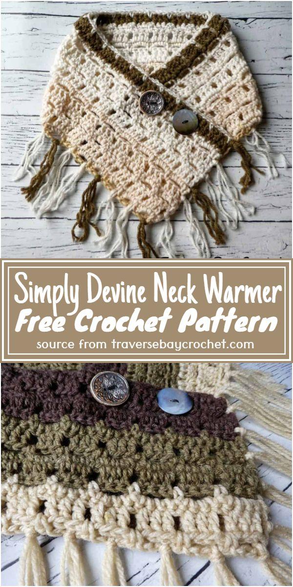 Free Crochet Simply Devine Neck Warmer Pattern
