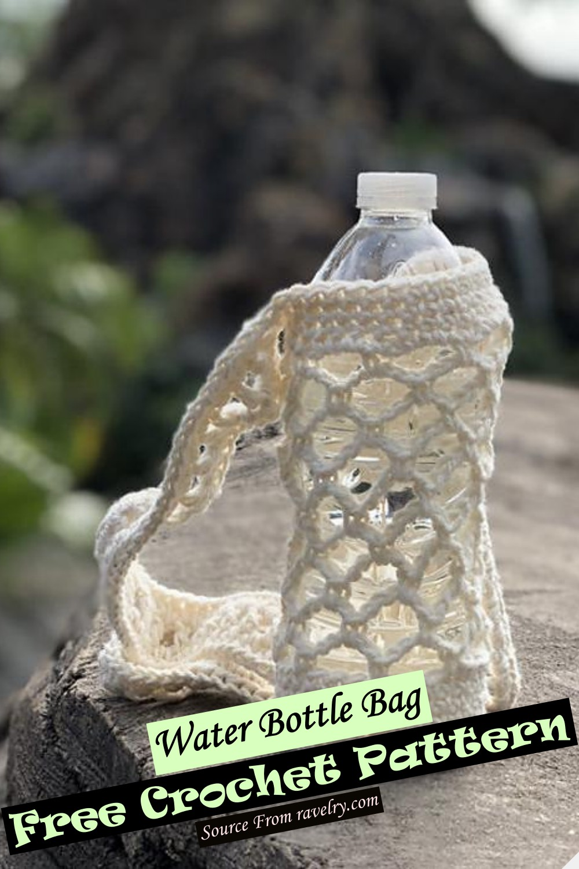 Free Crochet Water Bottle Bag Pattern