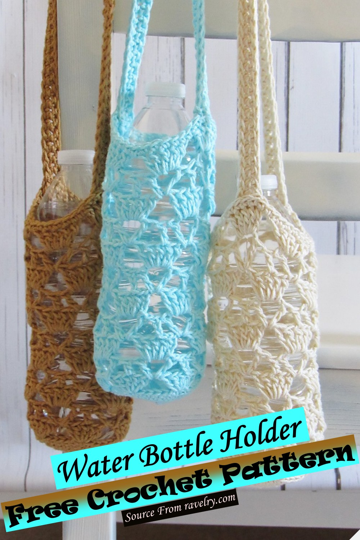 Free Crochet Water Bottle Holder Pattern