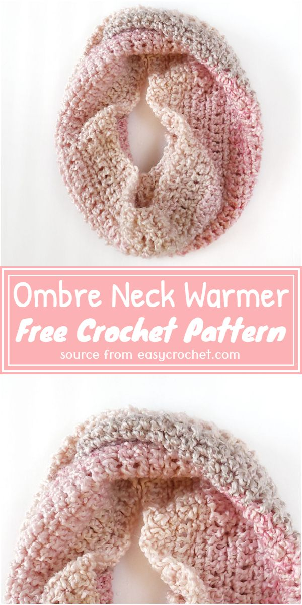 Free Ombre Beginner Cowl Pattern