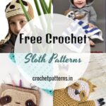 Adorable Free Crochet Sloth Patterns