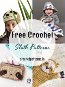 Free Crochet Sloth Patterns