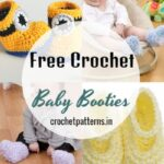 15 Free Crochet Baby Booties Patterns