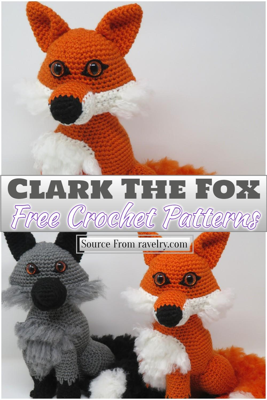 Crochet Clark The Fox Pattern