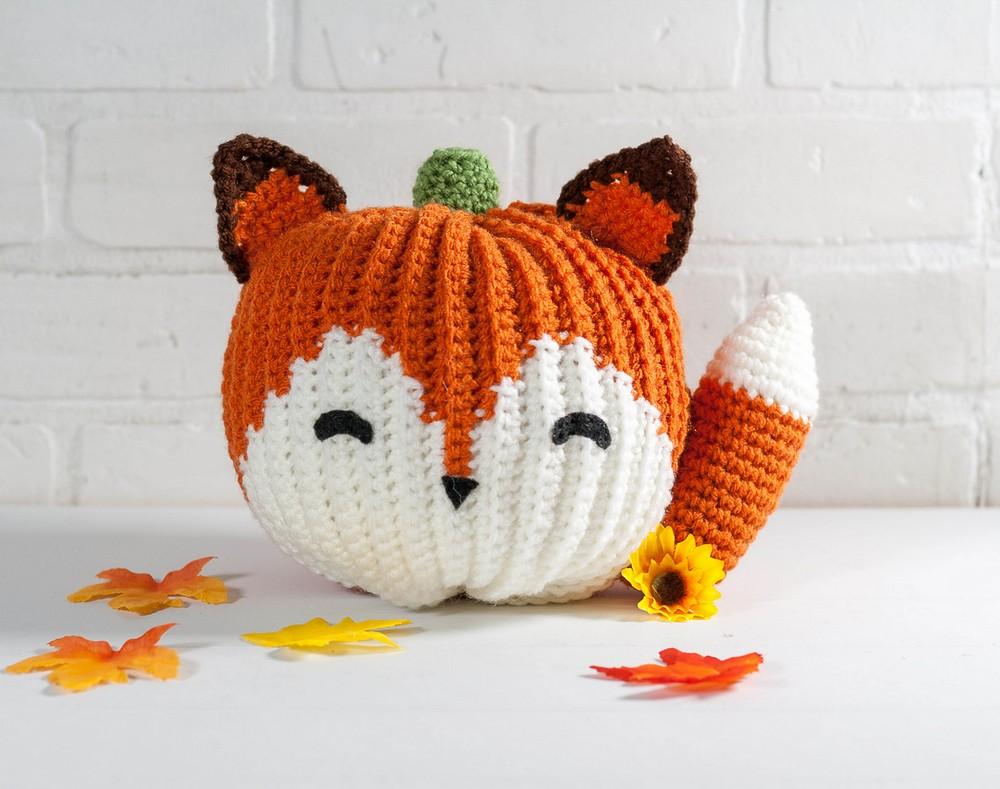 Crochet Fox Pumpkin Pattern