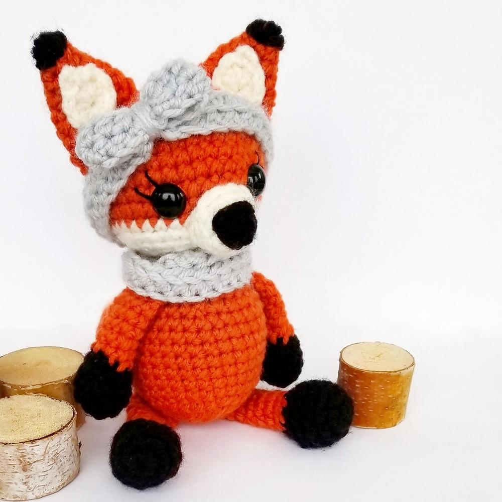 Crochet Kit The Fox Pattern