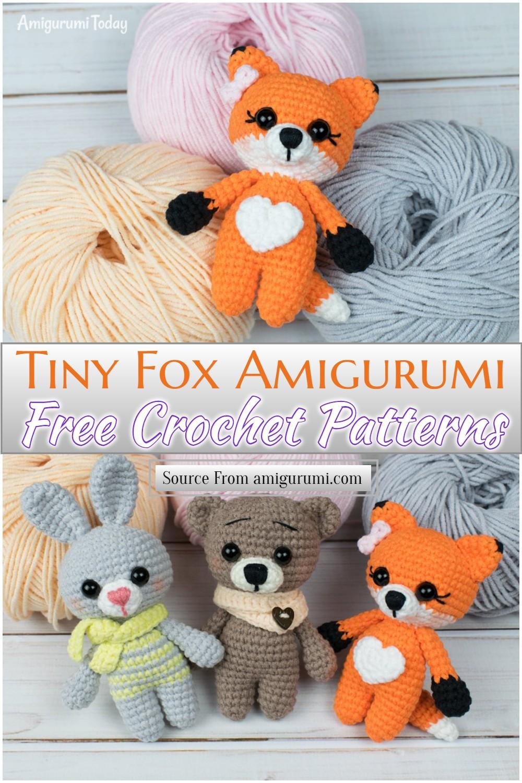 Crochet Tiny Fox Amigurumi Pattern